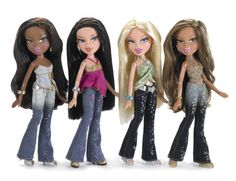 2006 Bratz Dolls - Bratz Dolls Released in 2006: Bratz Passion 4 Fashion Dolls
