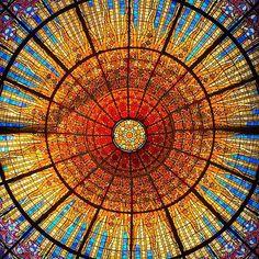 #barcelona #spain #palaudelamusica #sun #brice_laville @brice_laville