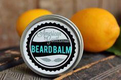 Strawberry Lemonade Beard Balm  1/2 ounce  by AmericanGentlemanMA, $4.00