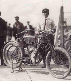 The First Harley Davidson Bike !