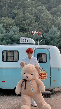 Yg Entertainment, Bts Bon Voyage, Jung Woo Young, Felix Stray Kids, Kim Hongjoong, Doja Cat, Kpop Guys, Big Bear, One Team