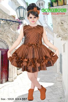 Gowns For Girls, Dresses Kids Girl, Little Girl Fashion, Kids Fashion, Kids Frocks Design, Lehnga Dress, Frock Design, Infants, Fashion Designers