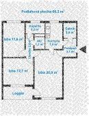 3-izbový byt, typ BABC311.1 | AkéByty.sk Floor Plans, Floor Plan Drawing, House Floor Plans