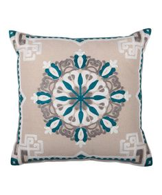 Lush Decor has an array of colorful and embellished every day, coastal & holiday themed pillows online. To purchase embroidered throw pillows for your couch, head over to our website now! Soft Pillows, Floor Pillows, Pillows Online, Bed Design, Joss And Main, Linen Fabric, Decorative Throw Pillows, Teal, Lush