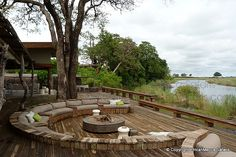Kings Pool - Linyanti Safari - Picasa Web Albums Plunge Pool, Bedroom With Ensuite, Folding Doors, Garden Bridge, Albums, Safari, Africa, Outdoor Structures, Patio