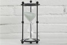 Unique Sand Clock - From Antiquefarmhouse.com - http://www.antiquefarmhouse.com/current-sale-events/accent18/sand-clock.html