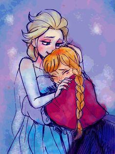 "elsanna-art-archive: ""Art by 山芋 "" Animation Film, Disney Animation, Freezing Anime, Frozen Drawings, Frozen Fan Art, Frozen Sisters, Jack And Elsa, Frozen Characters, Princess Drawings"