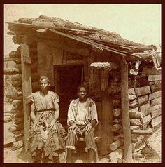 """Okinawa Soba........ SLAVES, EX-SLAVES, and CHILDREN OF SLAVES IN THE AMERICAN SOUTH, 1860 -1900 (4)..............  """"Martha and her son, Bob"""" in old Georgia."""