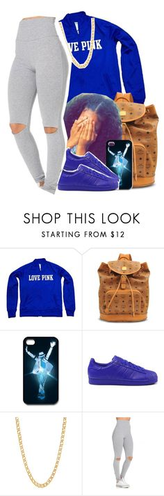 """""""chill swag ✨"""" by jchristina ❤ liked on Polyvore featuring Victoria's Secret, MCM, adidas and Gogo Philip"""