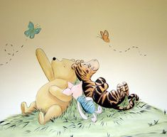 Pooh, Tigger, and Piglet