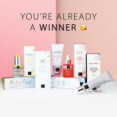 Win over £200 worth of scrumptious skincare products in THE HERO PROJECT's greatest ever competition
