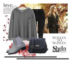 """shein 10"" by aida-1999 ❤ liked on Polyvore featuring WALL, Ann Taylor and River Island"