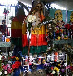 Shrine to Santa Muerte | Flickr - Photo Sharing!