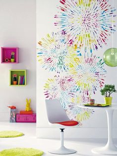 Recursos para cambiar de habitación: de niños a adolescentes – Deco Ideas Hogar Bedroom False Ceiling Design, Diy Décoration, New Room, Colorful Decor, Kids Furniture, Girls Bedroom, Kids Room, Sweet Home, Room Decor