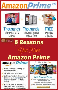 8 Reasons You Need To Get Amazon Prime!