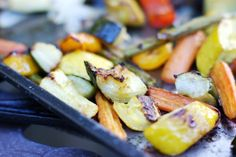 The Kitchen is My Playground: Easy Oven-Roasted Summer Vegetables