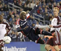Saer Sene picked up a goal and an assist as the New England Revolution conquered the Colorado Rapids at Gillette Stadium in Foxborough on Wednesday.