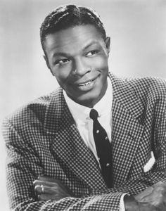 Listen to the music of Nat King Cole, Courtesy of Jimbo Berkey Nate King Cole, Nat King, Santa Monica, Afro, Natalie Cole, Natalie King, Vintage Black Glamour, Louis Armstrong, Jazz Musicians