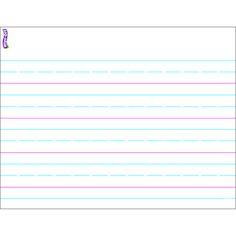 HANDWRITING PAPER WIPE OFF CHART
