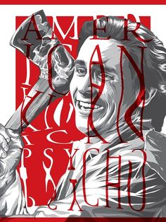 Horror Movie Poster Art : American Psycho, by Anthony Petrie Horror Movie Posters, Movie Poster Art, Horror Movies, Cult Movies, Scary Movies, American Psycho Movie, Alternative Movie Posters, Cool Posters, Horror Art