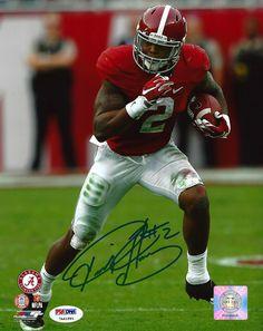 Derrick Henry Autographed 8x10 Photo Alabama Crimson Tide PSA/DNA ITP Stock #102556