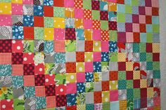 Scrappy Trip Around the World- link to tutorial on Quiltville and to Flickr site full of Scrappy Trip inspiration