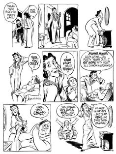 "Will Eisner Art: City People Notebook ""Smellbound"" p. 3 lot of 3 Comic Art, Comic Books, Will Eisner, Alternative Comics, Comic Book Panels, City People, American Comics, That Way, Novels"