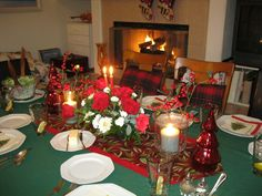 Holiday Table For Family & Friends