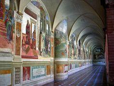 Fresco's of Monte Oliveto Maggiore, Crete Senese , Tuscany