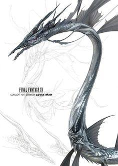 FFxv Leviathan