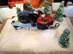 Polaris dragon cake