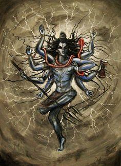 shiva the destroyer | Lord Shiva the Destroyer by KamaliOm on deviantART