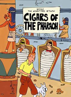 Les Aventures de Tintin - Album Imaginaire - Cigars of the Pharaoh