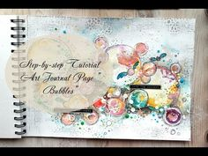 Art Journal Page – Bubbles – Lindy's Stamp Gang