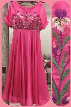 Desi Wedding Dresses, Party Wear Dresses, Party Gowns, Long Gown Dress, Chiffon Dress, Salwar Pattern, Hand Work Blouse Design, Indian Gowns Dresses, Anarkali Dress