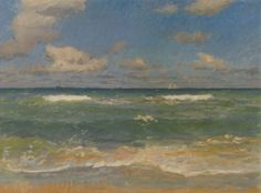 Bright Day in Skagen - Laurits Tuxen 1908 Danish 1835 - 1927