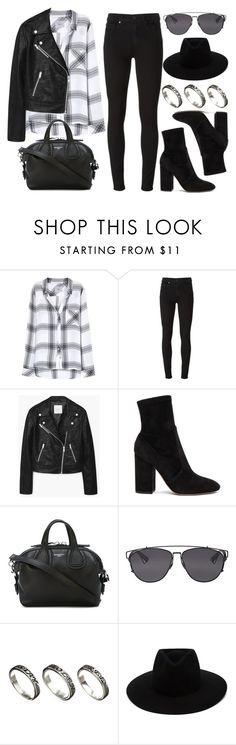 """Style #11349"" by vany-alvarado ❤ liked on Polyvore featuring Rails, Paige Denim, MANGO, Valentino, Givenchy, Christian Dior, ASOS and rag & bone"
