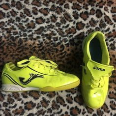 7a7f7790f7 Joma Soccer Shoes Bright highlighter color. Very comfortable shoes. Only  worn indoor (played