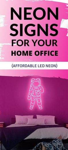 This astronaut LED neon sign will let you experience light like never before - made to order, ready to wow your guests. Neon Home Decor, The Heat, Take You Home, Led Neon Signs, Astronaut, Change, Let It Be, Cover, Astronauts