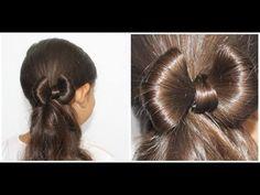 Laço de cabelo / Penteados - YouTube