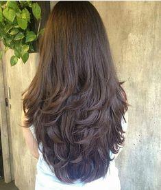Long Layered Hair Wavy, Haircuts For Long Hair With Layers, Haircuts Straight Hair, Long Face Hairstyles, Long Layered Haircuts, Haircut For Thick Hair, Long Hair Cuts, Haircut Long, Layered Hairstyles