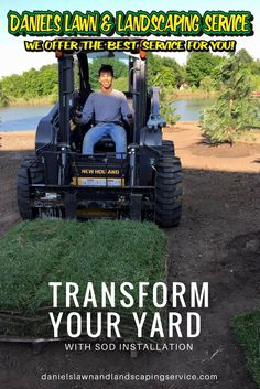 Transform your yard with Sod Installation | Wichita, KS