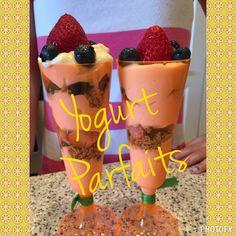 Yogurt Parfaits - Lori Miggins Fitness - Fitness, Nutrition, Family and Organization