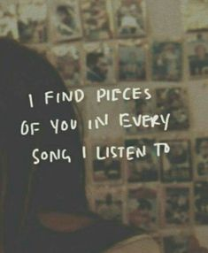 Every song has a story