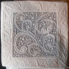 Zentangle: Quilt by Jane Monk, Certified Zentangle Teacher