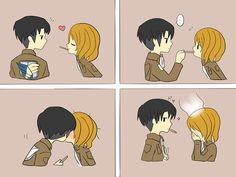attack on titan. Yes I ship Levi x Petra. Walk away and get over it.