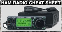 Our Ham Radio Cheat Sheet with HF, UHF & VHF Frequencies, Q Codes, the Phonetic Alphabet and Morse Code
