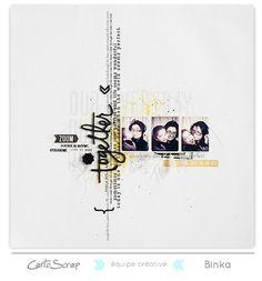 Page de Binka pour Cartoscrap