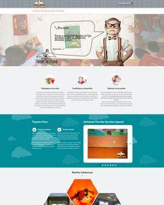Diseño de la página web de Pequeños Pasos, centro infantil que establece un alto grado de confianza entre padres y educadores. Pueden visitar su bonita página web en http://www.pequeñospasos.com/ diseño web por: http://www.fc-networks.com