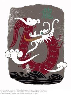 // Chinese horoscope : Dragon - Jean-Manuel Duvivier